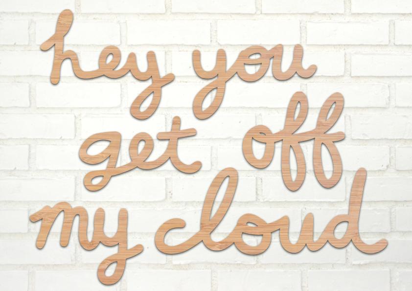 get off of my cloud lyrics: